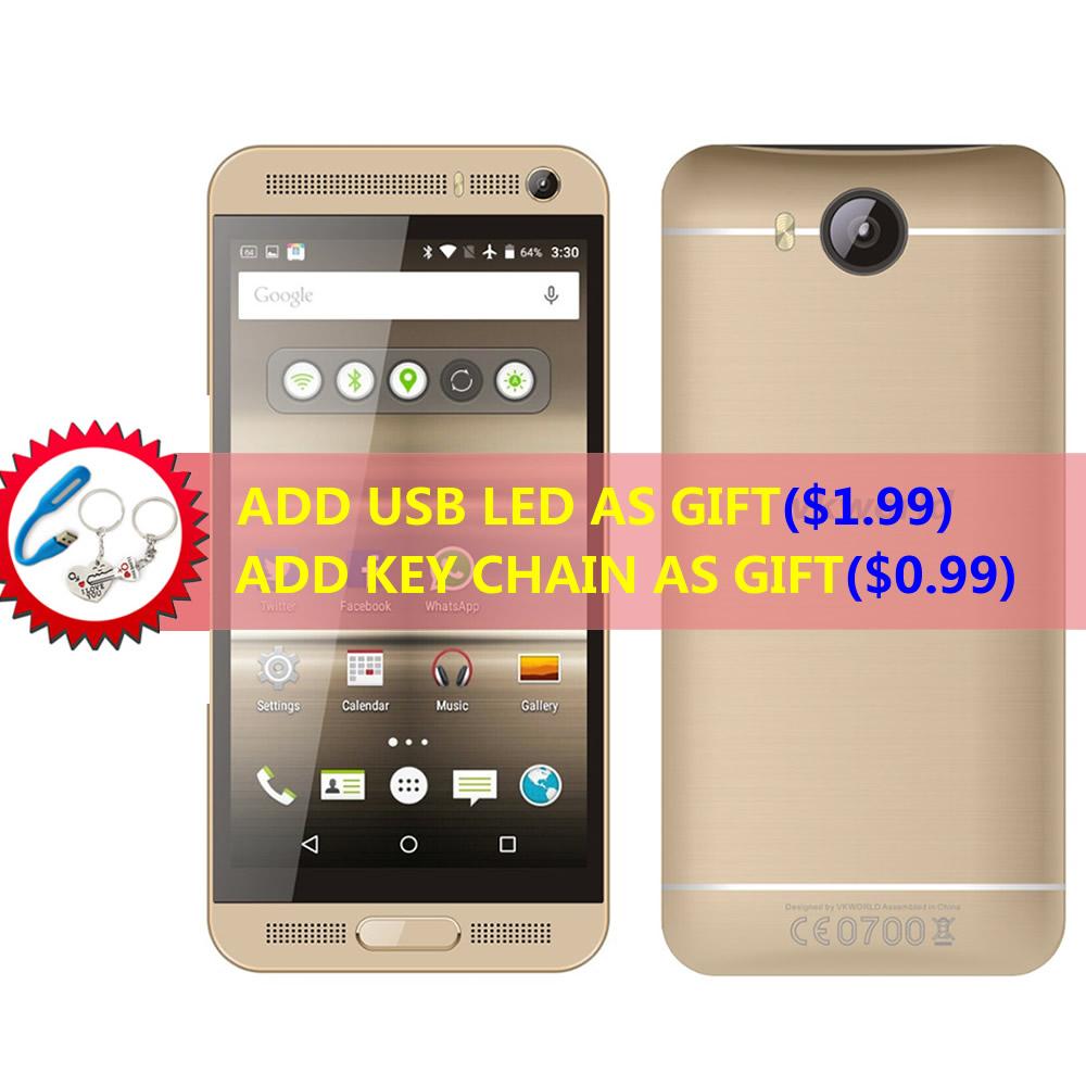 Original Vkworld VK800X 5.0 inch IPS Android 5.1 Cell Phone MTK6580 Quad Core 1GB RAM 8GB ROM WCDMA GPS 8MP Dual Sim Smartphone(China (Mainland))