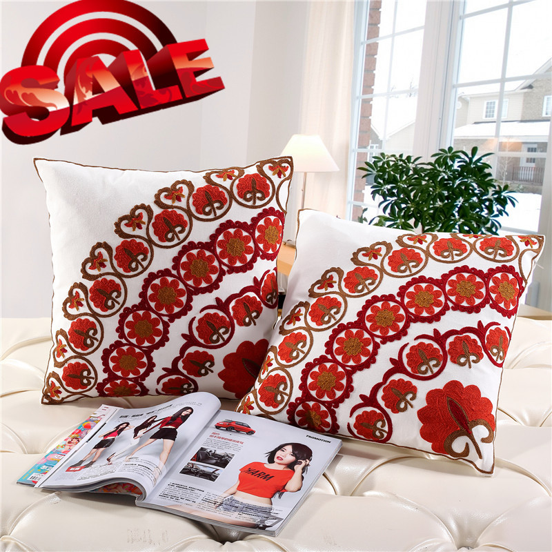 hotel trip fashion fabric hand textile HOME FAMILY GOODS KNITTED 45-45CM SQUARE CHAIR CUSHIONS for sale pillow single CUSHION(China (Mainland))