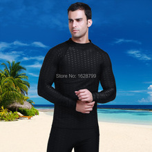 Sbart акулы сыпь гвардии мужчины UPF50 + серфинга гвардии мужчины высокое качество купальники морские костюм с длинным рукавом сыпь охраны