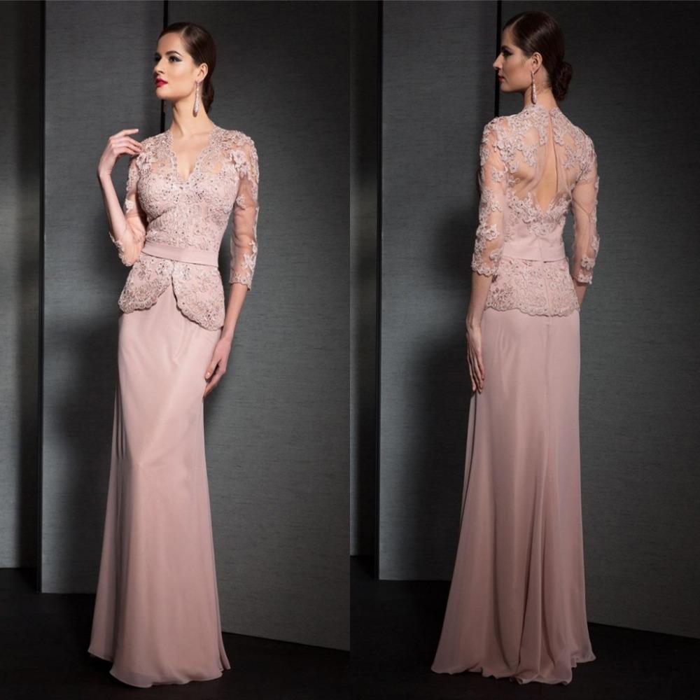 Fashion Formal Dress Applique Peach Coral Ball Gowns Cheap