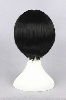 [Hoozuki no Reitetsu] 30cm Short Straight Black Synthetic Full Hair Cotume Wig