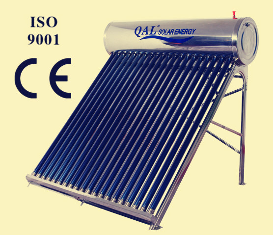 20 vacuum tubes unpressurized solar collector water heater(China (Mainland))