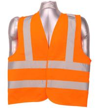 2 band 2 brace high visibility fluorescent safety vest(China (Mainland))