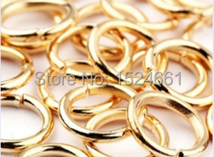 1000pcs/lot Open Jump Ring 3 4 5 6 7 8mm link loop Silver Black Bronze for DIY Jewelry Findings Connector(China (Mainland))