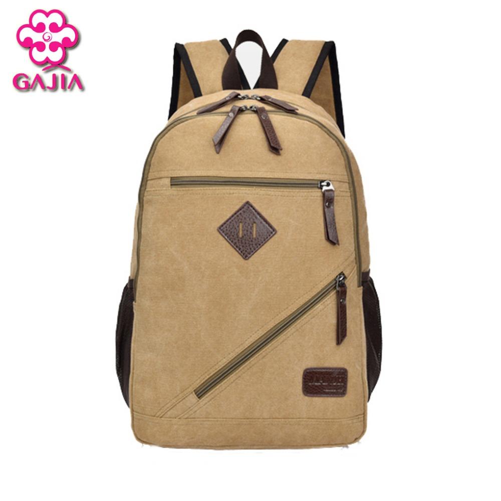 Factory Outlets Fashion Environmental Wear Canvas Water Repellent Big Space Men Travel Bag Backpacks Vintage Shoulders Bag(China (Mainland))