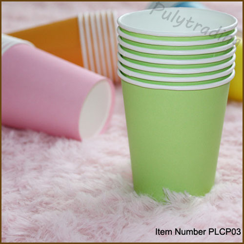 50pcs Party Paper Cups Drinking Paper Cups Wedding Birthday Party Drink Cups(China (Mainland))