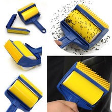 Hot!!!Reusable Sticky Buddy Picker Cleaner Lint Roller Pet Hair Remover Brush cleaning wool brush brush for cleaning clothes (China (Mainland))
