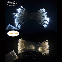 10M 80leds Battery Powered Fairy Lights LED String Light For Party Garden Wedding Christmas Holiday Home Decoration Lighting(China (Mainland))