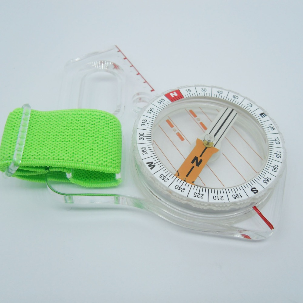 Thumb compass orienteering Professional Compass High Performance Compass Camping 3000 magnetic free shipping(China (Mainland))