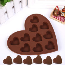 Buy Lovely Heart Shape Silicone Cake Mold DIY Chocolate Soap Molds Sugar Craft Cake Decorating Tools Form for Cakes LS for $1.30 in AliExpress store