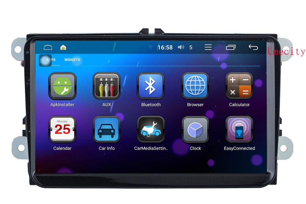 Quad Cord android 5.1.1 Car GPS Radio for VW Passat B5 MK4 Jetta Bora EOS Amarok Caddy Leon headunit DVD player WIFI 4G 1024X600(China (Mainland))