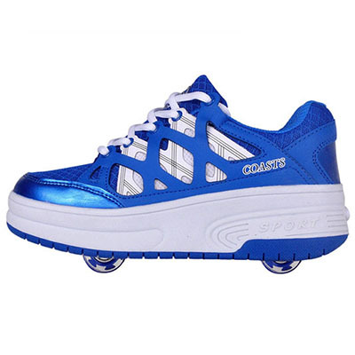 Heelys Kids Sneakers With Two Wheels Children Roller Skate Shoes Breathale For Boys Girls Child zapatillas zapatos de ruedas(China (Mainland))