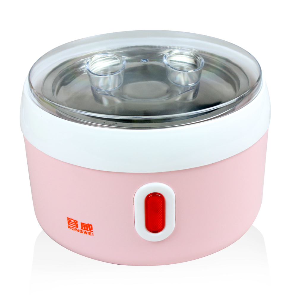 Simple Design Yogurt Machine Household Automatic Yogurt Machine 1L stainless steel 2 Colors Yogurt Maker(China (Mainland))