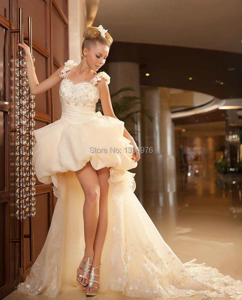Wedding Dresses  Free Shipping : Free shipping new sexy embroidery beach wedding dress