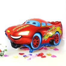 1PC Red Color Car Foil Balloon Helium Balloon Cartoon Car Balloons Wedding Birthday Decoration Toy(China (Mainland))