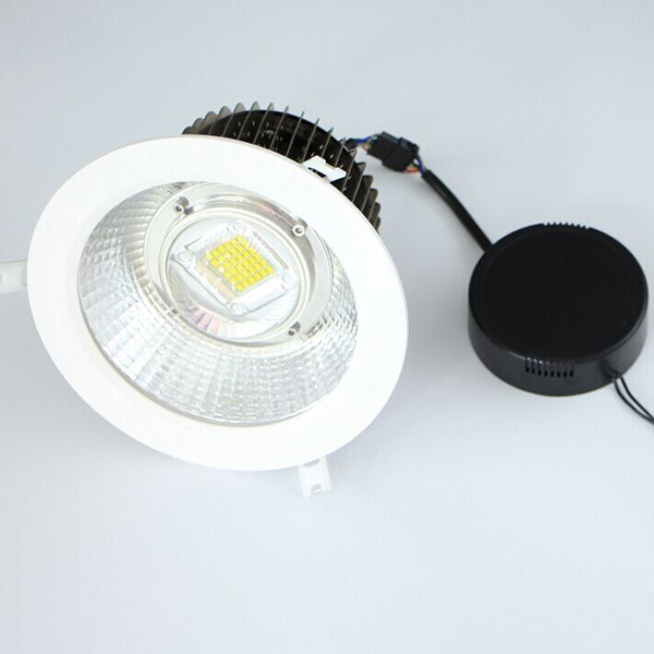 Commercial Lighting 50W 60W 80W CREE XT-E LED Downlight  Super Bright, Fins Structure 60 90 120 Light angle, 90lm/w Above<br><br>Aliexpress