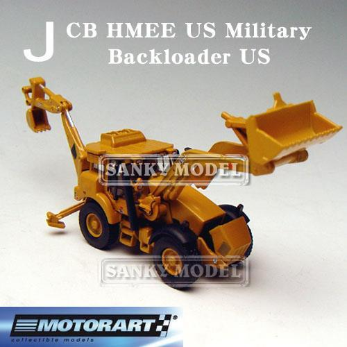 Sweden MOTORART 1:87 loaders JCB HMEE American edition car model stock(China (Mainland))