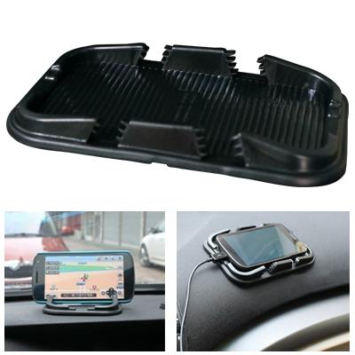Car slip-resistant pad car silica gel mobile phone super slip-resistant pad gps navigator mount dual
