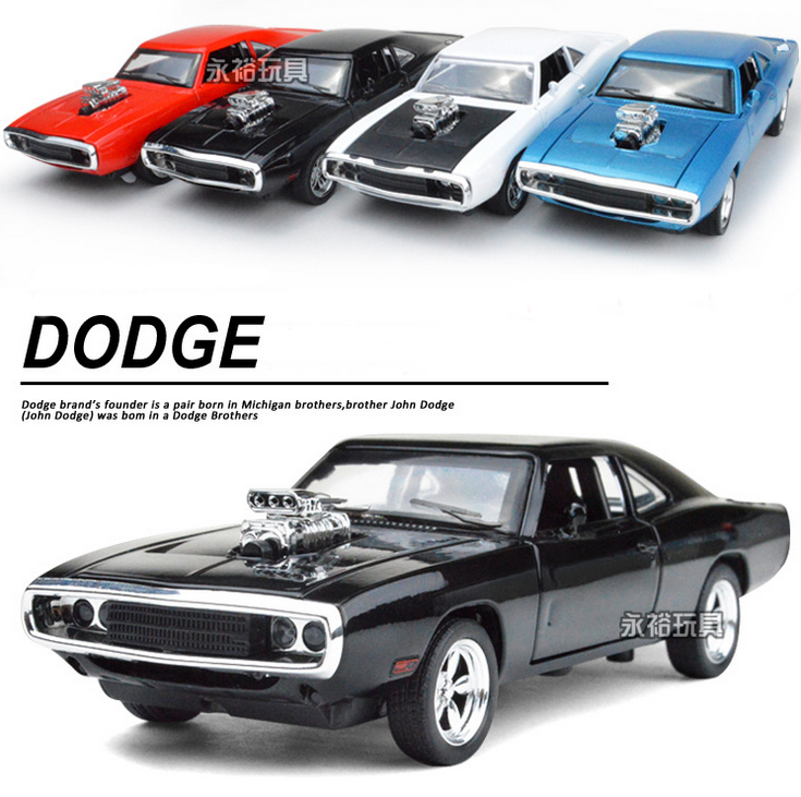 Hot Dodge Charger 1:32 alloy Wholesale car modesl four door open mustang GT children's toy car 2016 hot sale car metal models(China (Mainland))