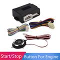 New Car Engine Start Stop Push Button Switch Smart Start System Engine Lock Starter Match the