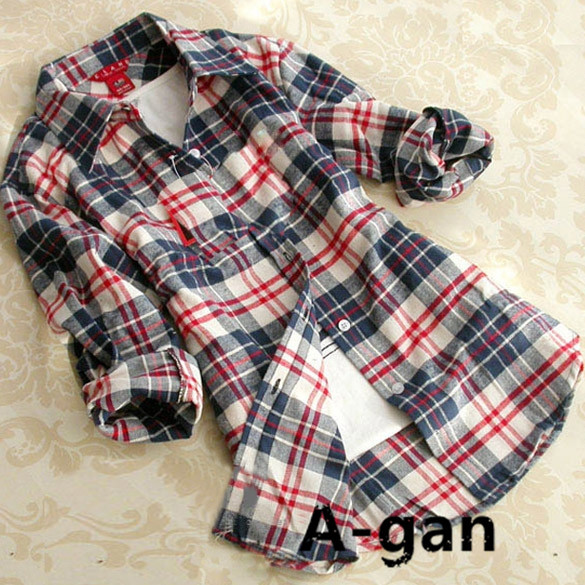 Flannel Shirts For Plus Size Women Plaid Shirt Plus Size Xxxl