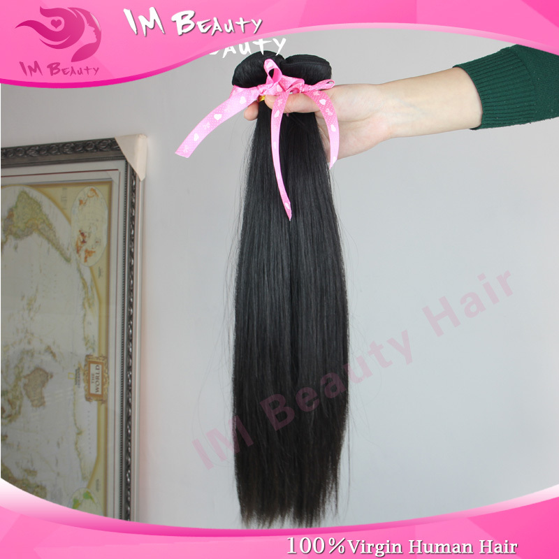 1pc/Lot Steam Sterilization Chinese Virgin Human Hair Straight Extension Directly Cut From Workmates Head Hair With Free Gifts<br><br>Aliexpress