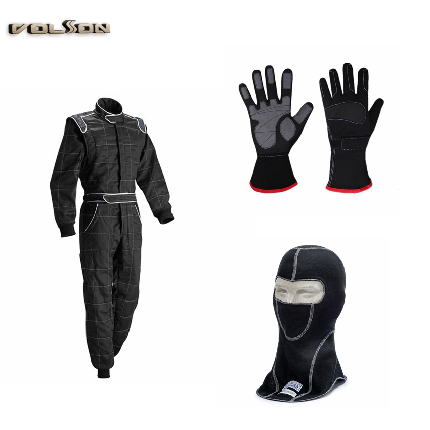 Wholesale Racing Suit /racing wear FIA Homologation racing safety suit Fireproof for men racing car team suit(China (Mainland))