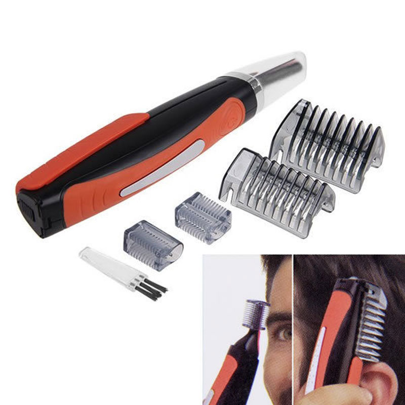 High quality Micro man Personal Nose Ear Neck Hair Trimmer Shaver Grooming Remover Kit Healthy Care #82089(China (Mainland))