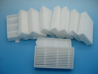 10pcs of Ecovacs HEPA filters,Use for Ecovacs Mirror CR120 Dibea X500 X600 Vacuum cleaner,Promaster Robot 2712!