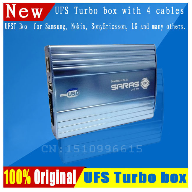 2014 New UFS HWK Turbo box for Samsung&Nokia& SonyEricsson &LG with four cables(China (Mainland))