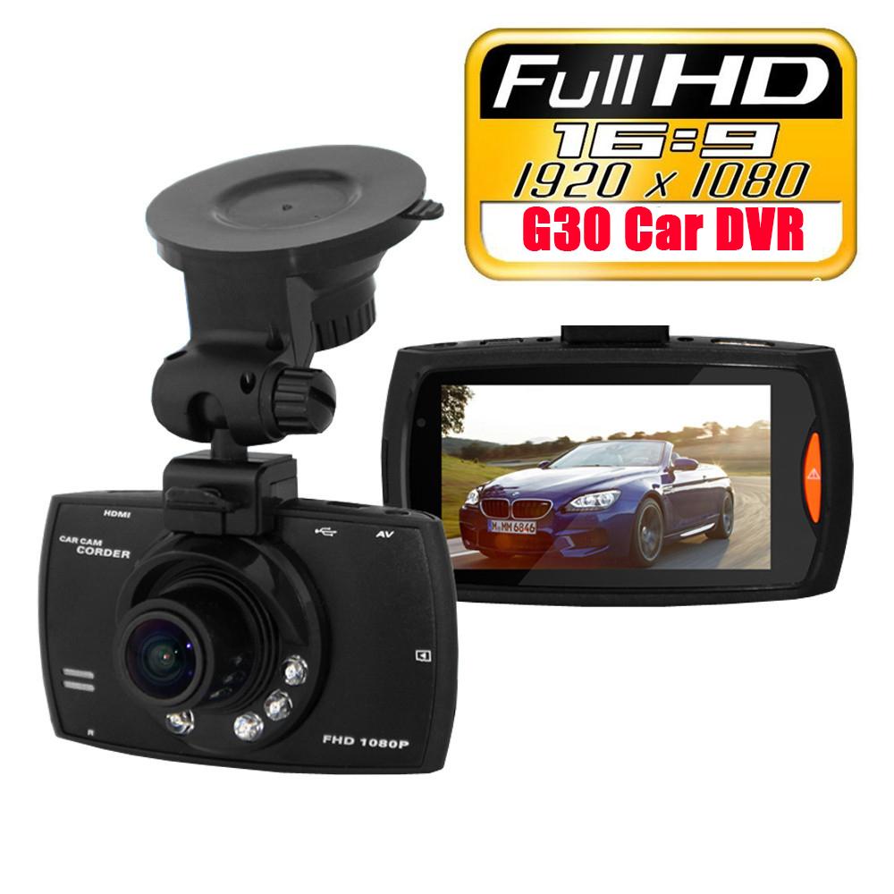 Original G30 HD 1080P Car Camera Car DVR Novatek 96220 Vehicle Traveling Date Recorder Night Vision Tachograph 2.7 inch LCD(China (Mainland))