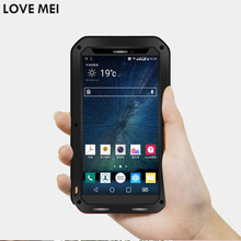 Buy LG LG V10 Cover 5.7'' F600L F600K H968 Waterproof Shockproof Case LOVE MEI TPU & Hard Metal Cover & Toughened Glass for $21.50 in AliExpress store