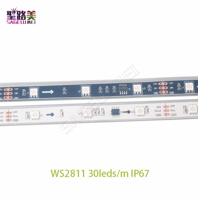 5m-roll-DC12V-ws2811ic-SMD5050-RGB-led-strip-dream-addressable-Digital-30-48-60leds-1-ic2