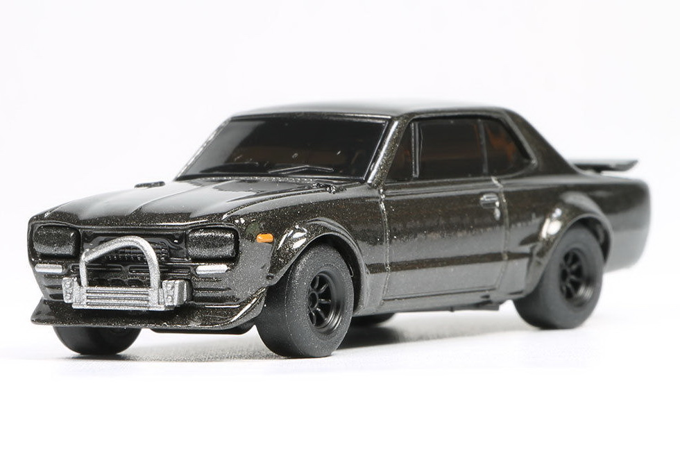 New Kyosho OEM 1:64 Nissan Skyline GTR KPGC10 alloy car The first generation of the God of war toys for children freeshipping(China (Mainland))