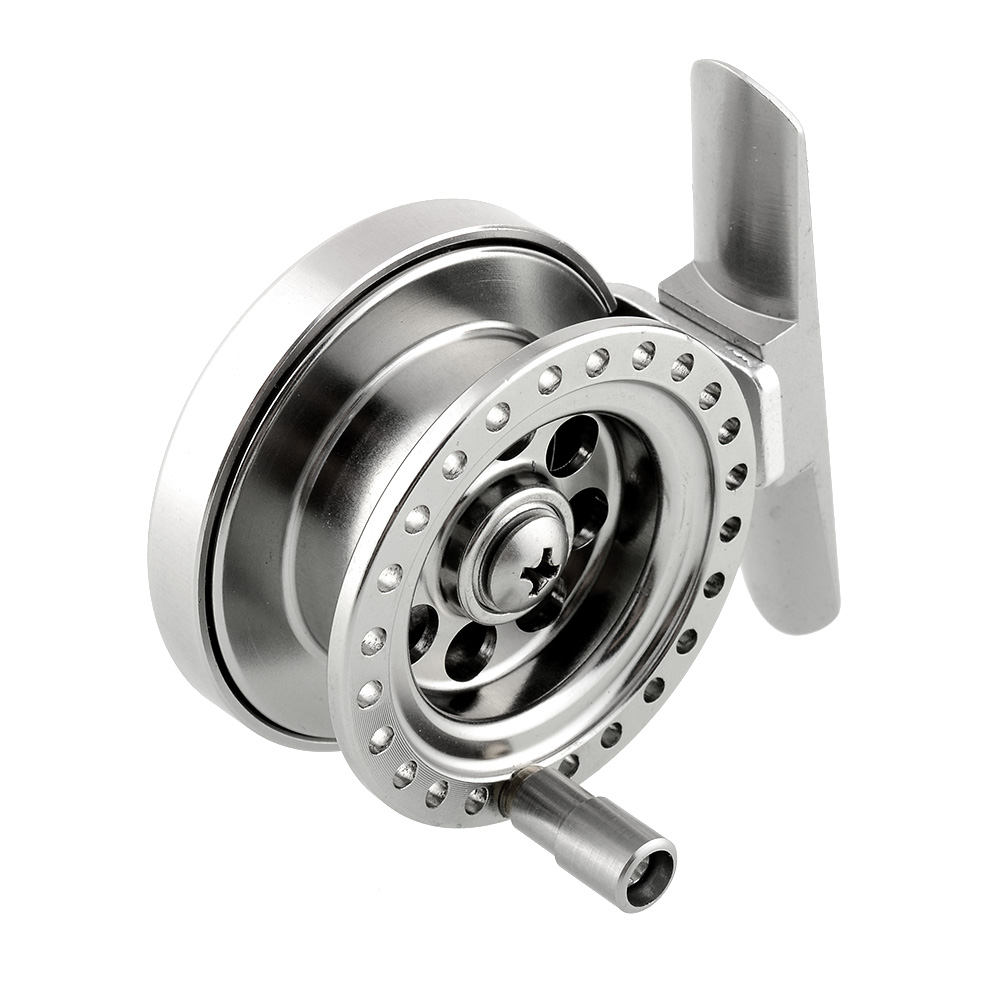 High Quality Firm Aluminum Fishing Reel For Super Strong Sea Ice Fly Fishing Line Wheel Skillful Moulinet Peche Drop Shipping(China (Mainland))