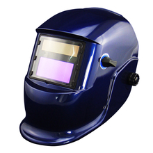 Buy Blue Li Battery+Solar auto darkening filter weld helmet/eye mask MIG MAG CT TSC KR welding machine LGK cutting tool for $31.67 in AliExpress store