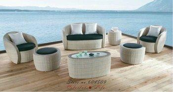 Hot Sale material/Alu. frame rattan furniture,YSF-N012,OEM