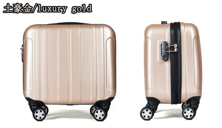 wholesale small size luggage carry ons suitcase 17inch luggage trunk spinner trolley boarding. Black Bedroom Furniture Sets. Home Design Ideas