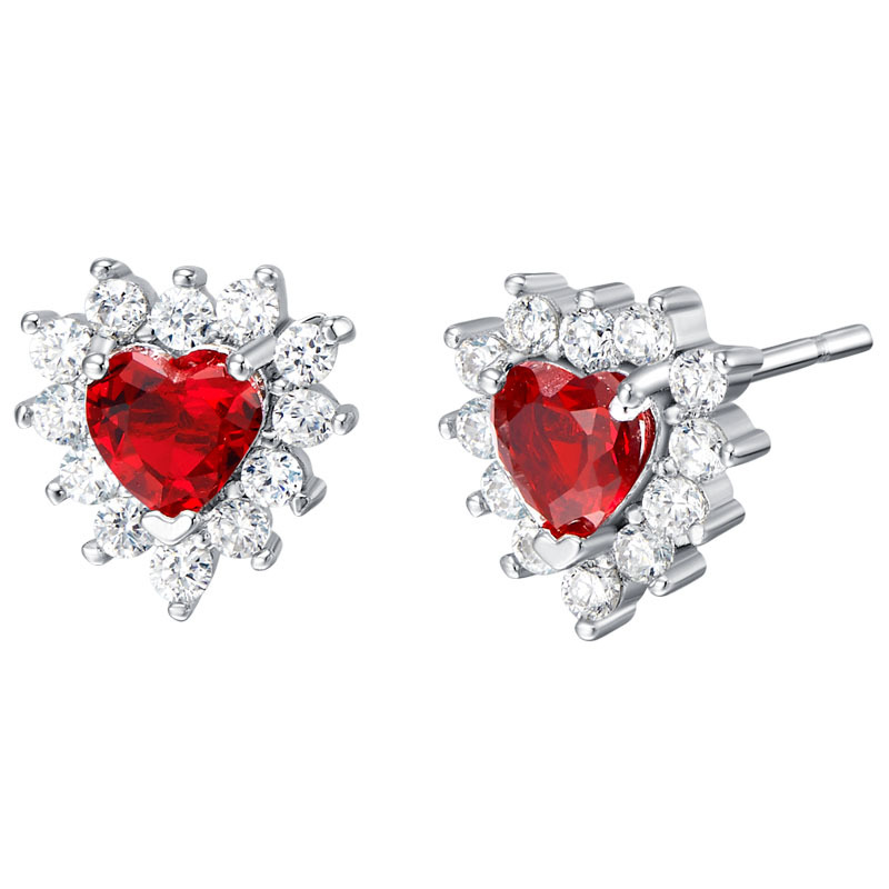 Women's hight quality stud earrings, fashion lady's tremella nail, Pop gem earrings accessories. Perfect woman stud earrings(China (Mainland))