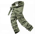 Hot Selling High Grade Multi Pockets Tooling Cotton Trousers Overalls Full Length Loose Commando Tactical Summer