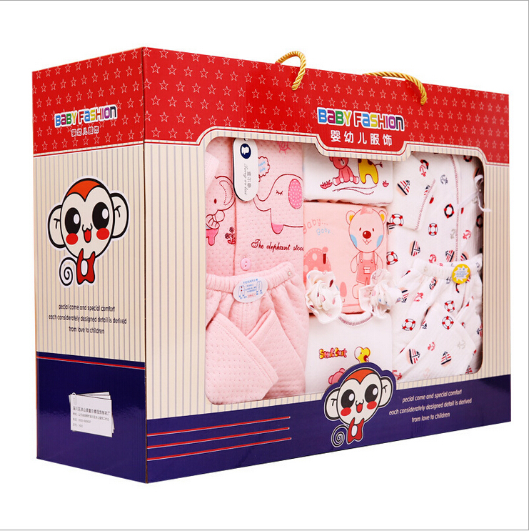 Baby Blanket Gift Box : High quality cotton pcs new born baby warm clothing
