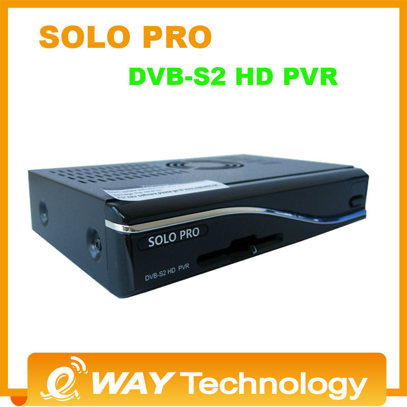 DHL free shipping Solo Pro same as vu solo pro Satellite Receiver Linux System Enigma2 Mini VU+ Solo with card sharing Youtube(China (Mainland))