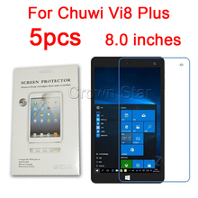 5PCS Glossy Matte Nano anti-Explosion Screen Protector Film For Chuwi Vi8 Plus Tablet 8.0 Inch Protective Film With Cloth