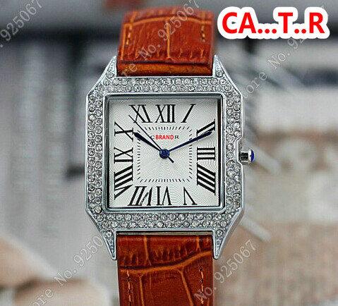 2015 new fashion ladies' diamond square wristwatch brand quartz wrist watch women, - Guangzhou Sunshine Commerce Ltd. store