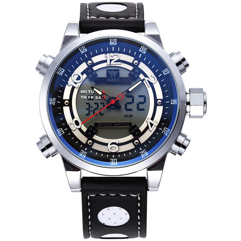 2016 Military Watches Men Luxury Brand Watch Sports Quartz Multi-function LED Display Wristwatch Relogio Masculino Gift<br><br>Aliexpress