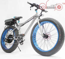 "2015 Sell Well 36V 500W 26"" Fat Electric Bicycle with 36V 20AH Rear Carrier Li-ion Battery(China (Mainland))"