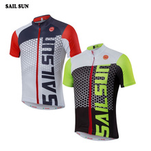 Buy SAIL SUN Men Team Riding Ropa Ciclismo Outdoor Cycling Jersey Bike Short Sleeve Shirt Clothing Bicycle Tops Size S-XXXL for $11.72 in AliExpress store