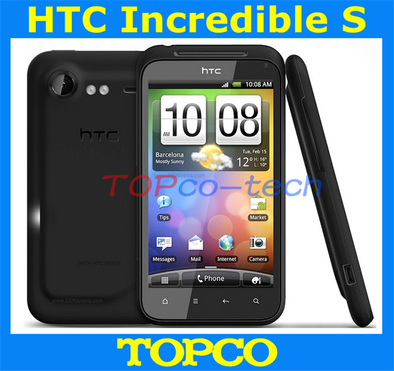 "Free Shipping Original HTC Incredible S G11 S710e Android 2.2 4.0"" Unlocked smartphone with GPS WIFI 1.3MP+8MP Dual Cameras(China (Mainland))"
