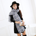 Plaid Scarf Luxury Brand Women Hijab 2016 Fashion Warm Shawls and Scarves Winter Wrap Blanket Scarf