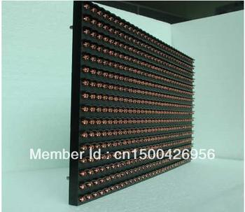 Semi- outdoor P10 Yellow LED display module 320mm*160mm